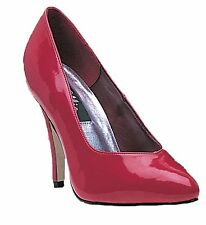Pumps 4 inch Heels Shoes Red Black White Womens Adult