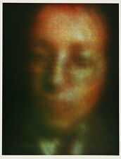Gerhard Richter, original Offsetlithographie, handsigniert und nummeriert.