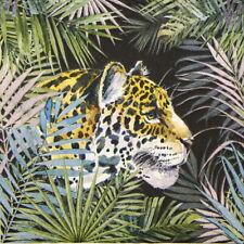 4x Paper Napkins for Decoupage Craft - Jaguar