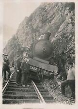 TRAIN c. 1930 - Déraillement du Train de Réservistes - PRM 434