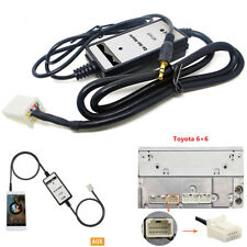 Car MP3 Player Radio Interface Aux In Input Adapter For Toyota Corolla 2005-2011