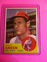 1963 TOPPS Baseball #91 Dallas Green Phillies NmMt+  SHARP! Centered! mint?