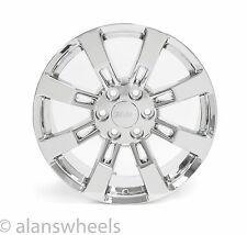 "4 NEW GMC Sierra Yukon Denali Chrome 20"" Wheels Rims & Lugs Free Shipping 5409"