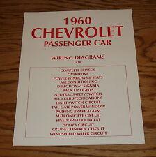 1960 Chevrolet Passenger Car Wiring Diagrams 60 Chevy