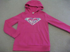 Girls size 10 Hot Pink ROXY Journey Sweater / Pullover / Hoodie *NEW*
