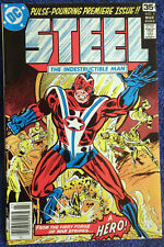 Steel the Indestructible Man #1 Conway! Heck! High Grade! Legends of Tomorrow!