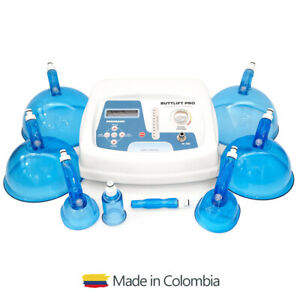 ButtLift Pro Colombian Vacuum Machine with Size L and XL cups