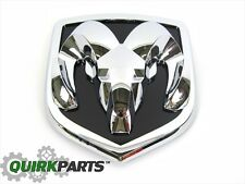 2006-2012 Dodge Ram 1500 With Chrome Grille Rams Head Emblem/Badge OEM NEW MOPAR