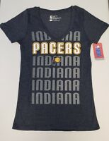 Indiana Pacers Women's Short Sleeve Mesh Burnout T-Shirt | SZ Medium | NWT