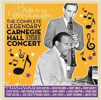 Benny Goodman - Complete Legendary Carnegie Hall 1938 Concert [New CD]