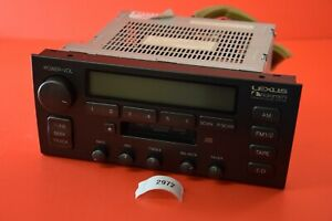 F#4 98-00 LEXUS LS400 AM/FM RADIO CASSETTE PLAYER RECEIVER PIONEER 86120-50570