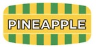 """Pineapple Labels 1000 per Roll Food Store Flavor Stickers .625"""" X 1.25"""""""