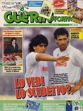 GUERIN SPORTIVO=N°6 1990=FASCICOLO LIBRO CAMPIONI MONDO 1934=CARECA=WEAH