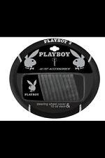 BRAND NEW PLAYBOY SILVER STEERING WHEEL COVER w/ Bonus CD Holder!!!!