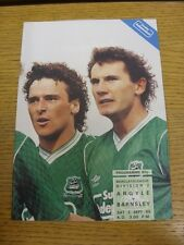 02/09/1989 Plymouth Argyle v Barnsley  . Thanks for viewing this item, buy in co