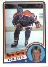 1984-85 O-Pee-Chee Oilers Hockey Card #243 Wayne Gretzky