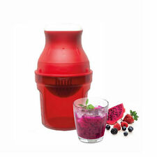 Neu Tupperware Juist Juice 500ml (Rot) + Kostenloser Versand