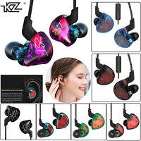 KZ ES4/ZS10/ZST  HIFI Hybrid Drive Earphone In Ear Headset Bass Headphone Earbud