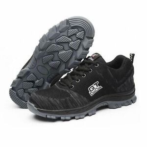Lightweight Mens Steel Toe Cap Safety Protective Shoes Trainers Boots Work BNIB