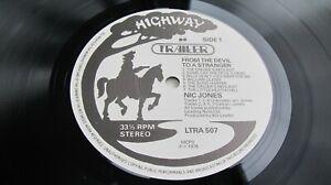 Nic Jones FROM THE DEVIL TO A STRANGER 1978 UK LP 1st  Highway NEAR MINT HEAR