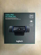 Logitech C920s Pro HD 1080p Webcam with Privacy Shutter NEW, IN HAND, Ships Now