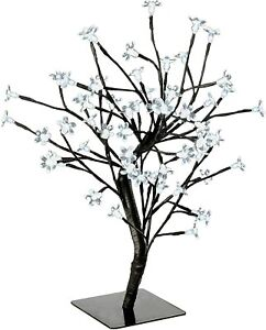 Cherry Blossom Christmas Tree (Artificial) - 60 Warm White LED Lights - 1.5ft