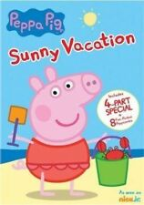 Peppa Pig Sunny Vacation 4 Part Special DVD