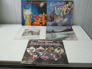 THE SOUNDS OF CHRISTMAS  en 4 andere  - COLLECTION 5 LP'S -