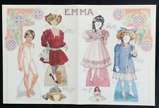 Emma Paper Doll, By Norma Lu Meehan