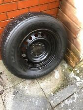Toyota Hilux original steel wheel black 17inch with Bridgestone tyre 265 65 R17