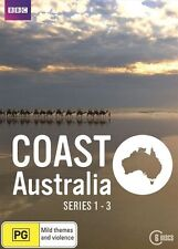 Coast Australia : Series 1 - 3 Box Set (DVD, 2017, 6-Disc, Region 4) BBC NEW