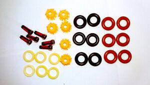Dichtsatz Reparaturset Einspritzdüsen für BMW E36 E34 30 Teile
