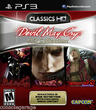 Devil May Cry HD Collection PS3 GAME PREOWNED USED EXCELLENT CONDITION