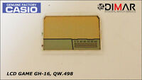 "VINTAGE CASIO LCD GAME ""GH-16"", QW.498"