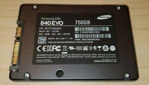 """Dell XPS 18 1810 Samsung 840EVO 750GB SATA 2.5"""" SSD Solid State Drive MZ-7TE750"""