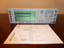 Agilent E4437B 250 kHz to 4GHz Digital RF Signal Generator LOADED & CALIBRATED!