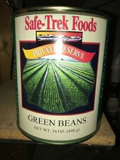 Safe-Trek Foods Green Beans Dehydrated #10 Can - 16 oz. Emergency Survival Food