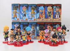 SET 12 FIGURAS Dragon Ball SUPER WCF vol.1-2 Goku Vegeta Gogeta freezer Broly
