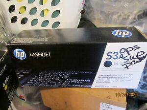 HP Laserjet 53A Print Cartridge BLACK New