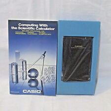 Vintage Collectible Casio fx-411 scientific calculator Solar Power