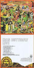 """IRON Butterfly """"live"""" con 19 minuti """"in-A-Gadda-Da - Vida"""", di 1970! NUOVO CD!"""