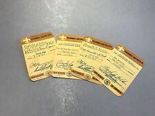 BOY SCOUT TRAINING CERTIFICATE, Vintage Boy Scout card, BSA Card, ephemera