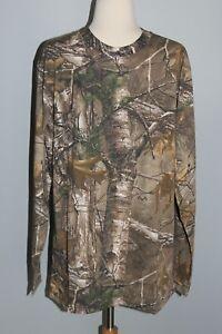NEW Hunting Zone REALTREE XTRA Long Sleeve T-Shirt Mens M L 2XL 3XL Camo Shirt