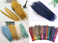 Wholesale 10-100pcs beautiful natural pheasant tail feather 10-12inches/25-30cm
