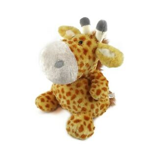 "Applause Baby Fat Giraffe Plush 11"" Stuffed Animal Orange Soft Beanie Russ"