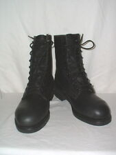 Craddick-Terry Steel Toe Black Lace Up Work Boots Mens 6R (Women 7) NWOT