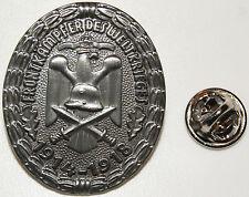 Frontkämpfer 1914 1918 Adler Stahlhelm  l Anstecker l Abzeichen l Pin 186