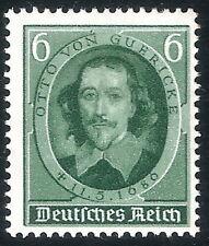 DR Nazi 3rd Reich Rare WW2 Stamp 1936 Hitler's Anniversary Otto Gubricke Stamp