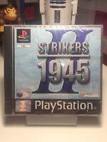 STRIKERS II (2) 1945  PlayStation 1 PS1  PAL SEALED