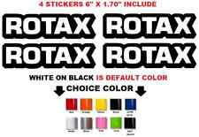 "(#674) ROTAX 6"" Vinyl Decals Ski-Doo 700 800 Engine Piston Rings E-Tec Stickers"